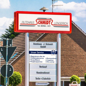 Autohaus Schmidt Lengerich seit 40 Jahren am Markt